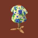 青い パンジー ポケ 森