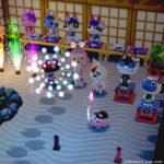 【ポケ森】手持ち花火が楽しい!和風でおしゃれな花火大会風レイアウト