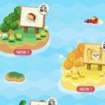 【ポケ森】島の更新と島一覧!どうぶつの地図の島を出す方法