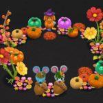 【ポケ森】秋のリースを再現したレイアウトがとってもかわいい!これは飾りたい♪