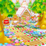 【ポケ森】まるでヘンゼルとグレーテル!お菓子の家のレイアウトがかわいい♪