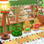 【ポケ森】おしゃれなクリスマスベーカリーレイアウト、ジンジャーブレッドマンがお出迎え☆