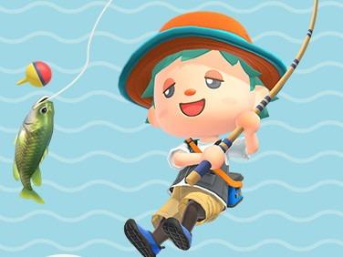 あつ 森 魚釣り