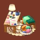 【ポケ森】あさみのしゅげいスペース(スペシャル家具)の入手方法・評価・家具情報