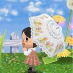 【ポケ森】傘が新実装!日傘がかわいいと話題に|どうぶつの森ポケットキャンプ