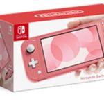 新色ピンク!「Nintendo Switch Lite コーラル」3月20日発売!予約開始は3/7。新色スイッチライトがかわいすぎ♪