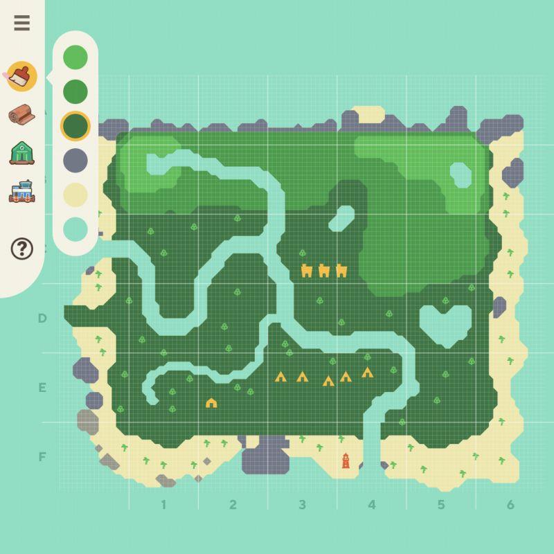 あつ森可愛い島作り方
